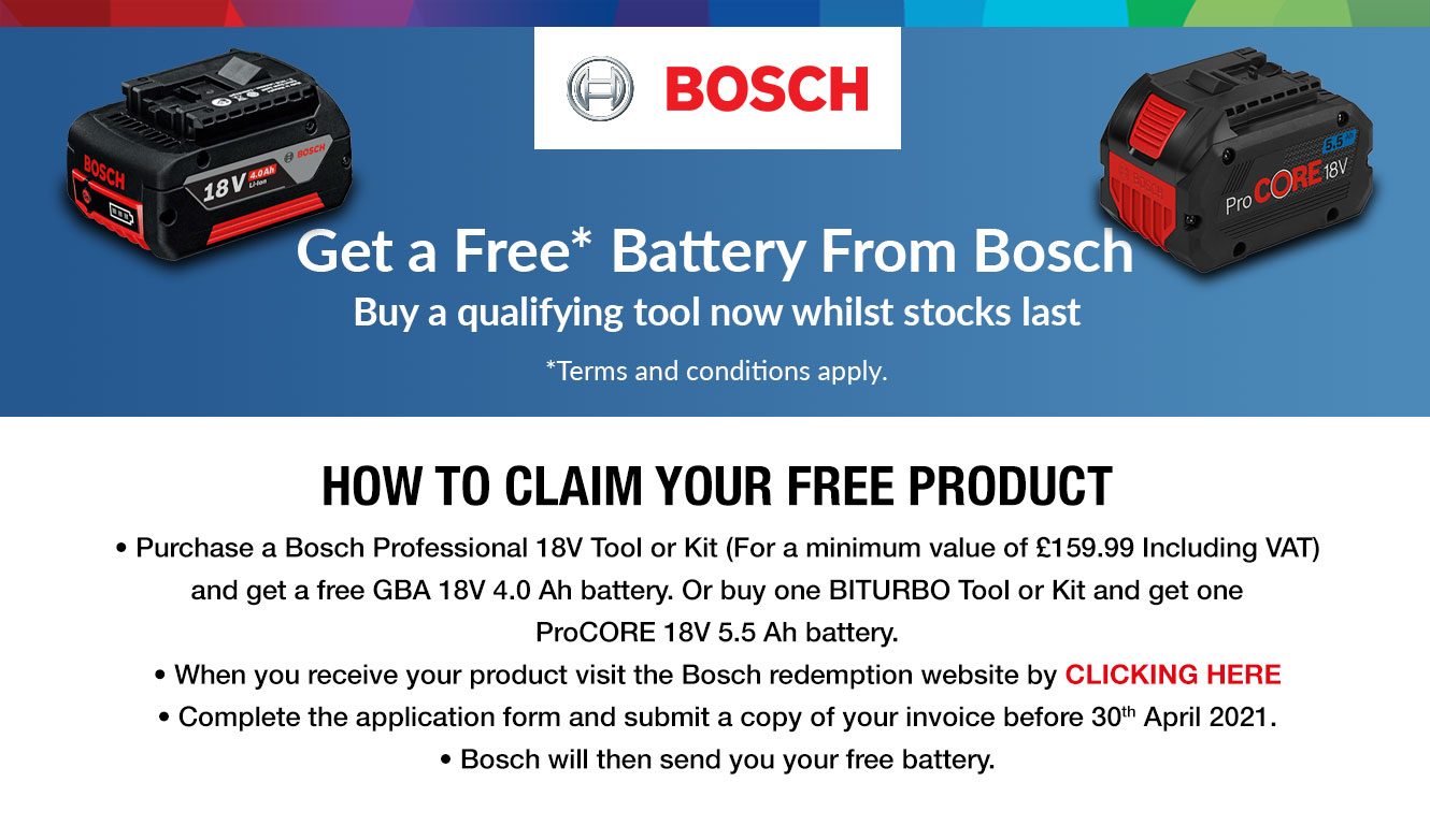 Bosch Battery Redemption